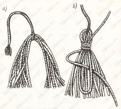 Бахрома, кисти, шнуры